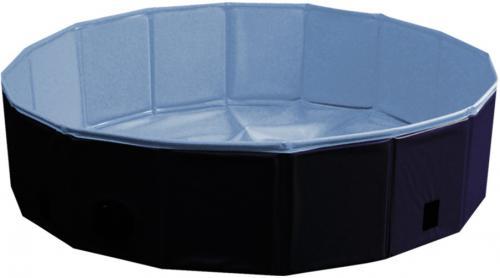 Nobby bazén pro psa skládací modrý s krytem L 160x30cm