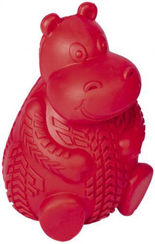 Nobby silná gumová hraèka na pamlsky hroch 12cm