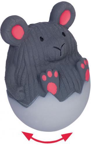 """Nobby hraèka pro psy latexová myš """"stand-up"""" 13cm"""