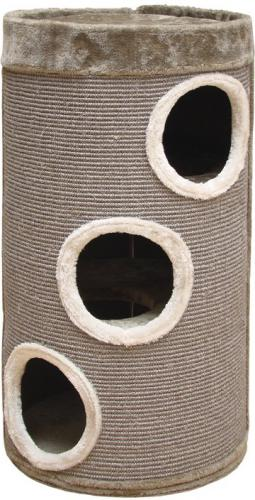 Nobby SLADANA škrábací válec pro koèky béžovì šedý 80cm