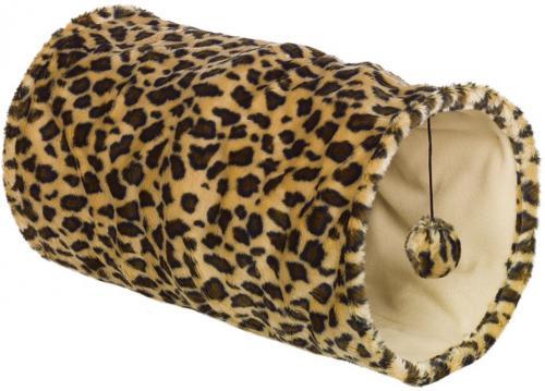 Nobby LEOPARD tunel pro koèky leopardí vzor 25x50cm