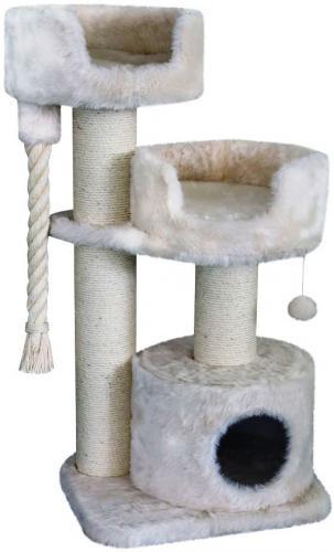 Nobby Cadiz škrabadlo pro koèky krémová dlouhý plyš 111cm
