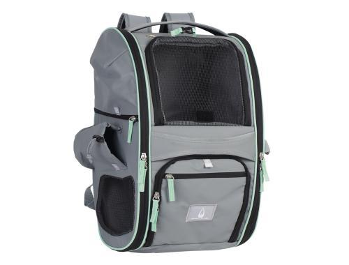 Nobby multifunkèní batoh NOMAD pro koèky a psy do 6kg 45x26x27cm šedý