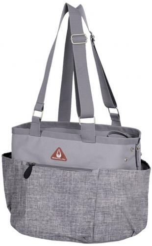 Nobby pøepravní taška DELOS pro koèky a psy do 7kg šedá 37x30x27cm