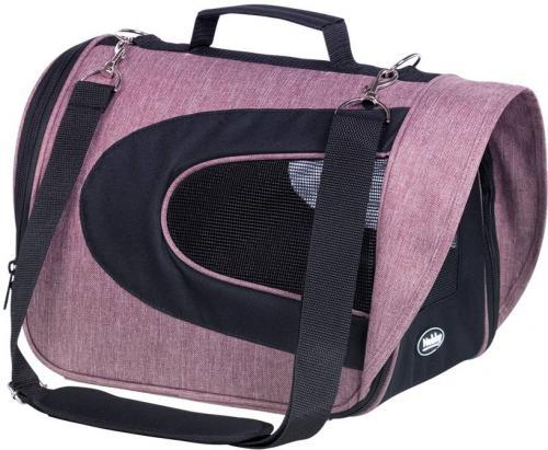 Nobby pøepravní taška KANDO starorùžová šedá 34x23x24cm