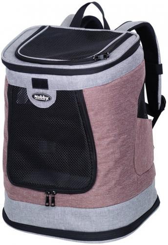 Nobby batoh na záda PLATA do 10kg rùžovo-šedá 34x30x43cm