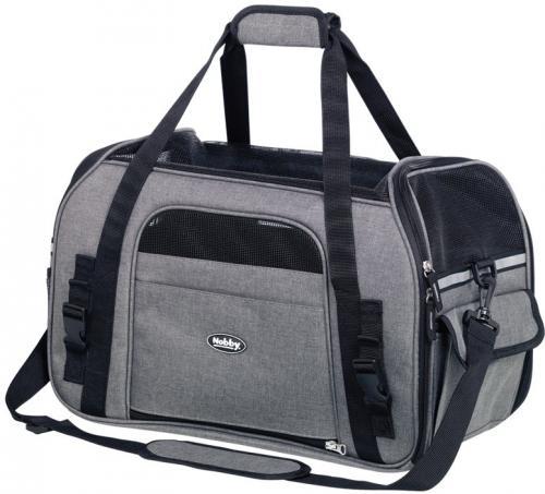 Nobby pøepravní taška LUJAN velikost L šedá 48 x 25 x 33cm