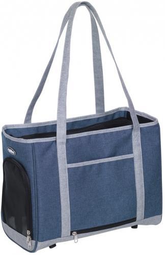Nobby pøepravní taška TOMMA modro-šedá 40x22x28cm