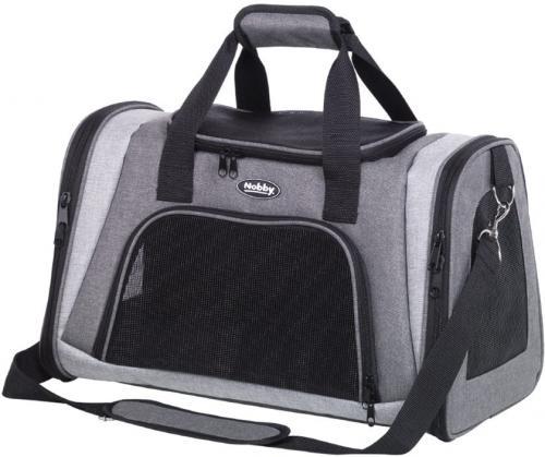 Nobby pøepravní taška ZAMO šedá svìtle šedá 46x28x29cm