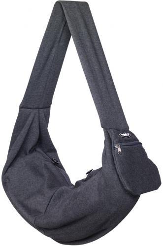 Nobby pøepravní taška NABIL pro koèky a malé psy šedá 66x34cm