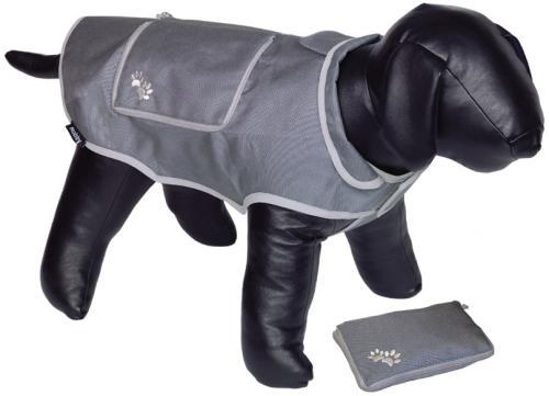 Nobby reflexní nepromokavá vesta BANAT pro psa 23cm šedá