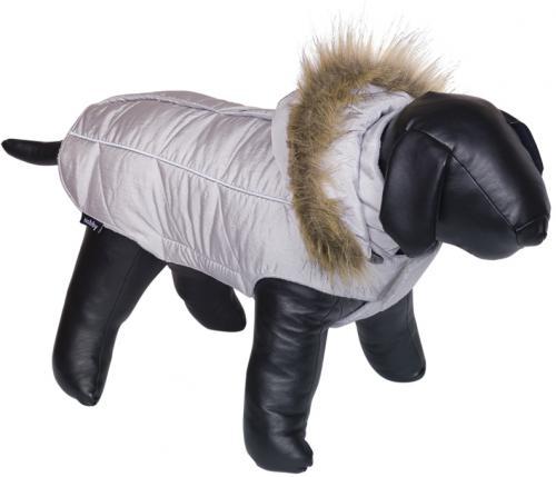 Nobby obleèek pro psa ARTIC šedá s kožíškem 48cm