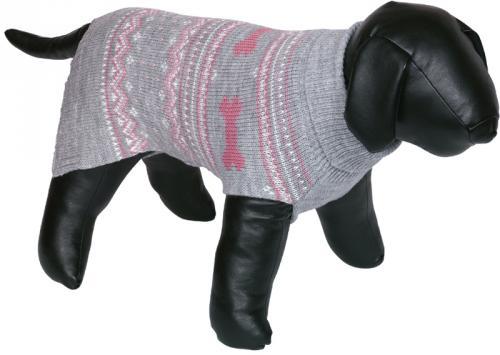 Nobby psí svetr MUNDO rùžová zimní vzor 36cm