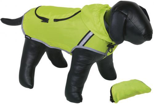Nobby Rainy reflexní pláštìnka pro psa žlutá neon 44cm