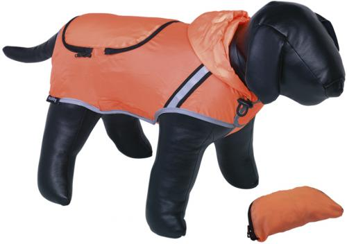 Nobby Rainy reflexní pláštìnka pro psa oranžová neon 44cm