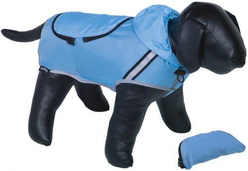 Nobby Rainy reflexní pláštìnka pro psa svìtle modrá 44cm