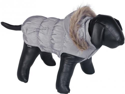 Nobby DAIKI obleèek pro psa šedá s kožíškem 20cm