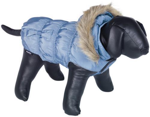 Nobby DAIKI obleèek pro psa modrá s kožíškem 44cm
