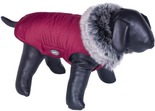 Nobby ADUA obleèek pro psa èervená s kožíškem 55cm