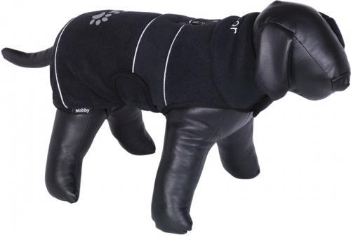 Nobby TENIA fleece reflexní mikina pro psa èerná 26cm