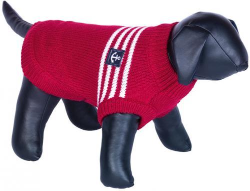 Nobby MARA pletený svetr pro psy kotva èervená 20cm