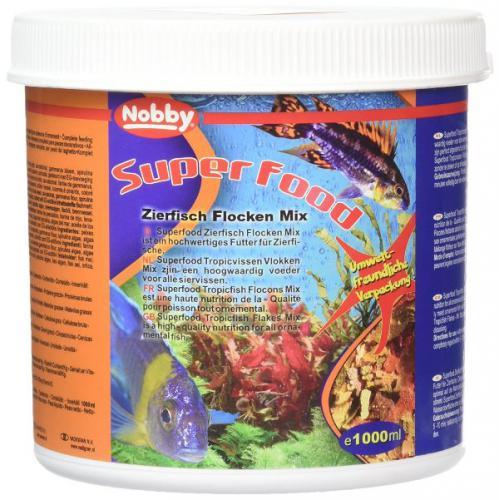 Nobby vloèkový mix pro akvarijní rybky 1 L