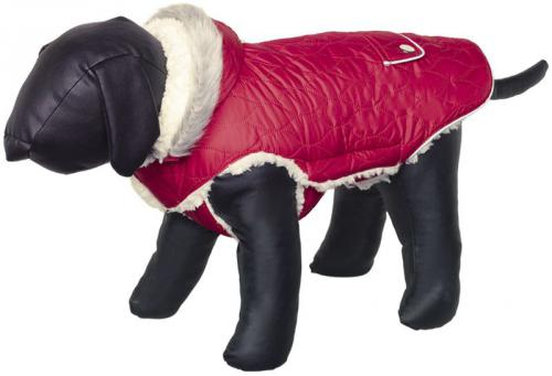 Nobby Polar obleèek pro psa s kapucí èervená 20cm