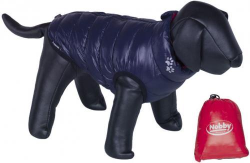 Nobby LIGHT vesta pro psa oboustranná èervená/námoønická modø 20cm
