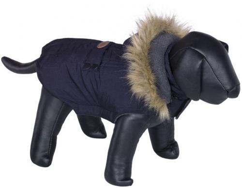 Nobby LIAM obleèek pro psa s kožíškem námoønická modrá 20cm