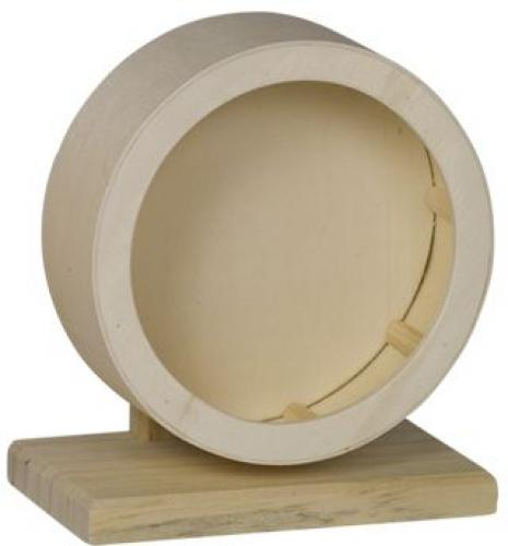 Nobby Woodland døevìný tichý kolotoè pro hlodavce 15cm