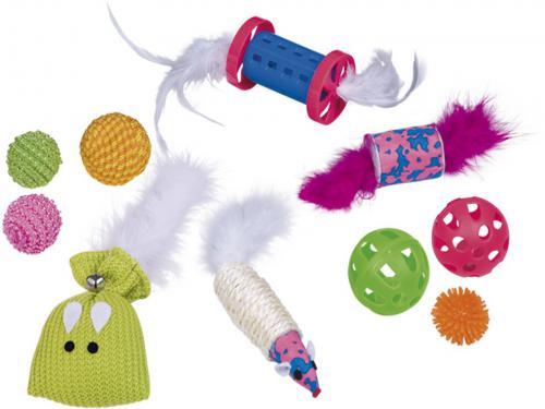 Nobby startovní set hraèek pro koèku 10ks