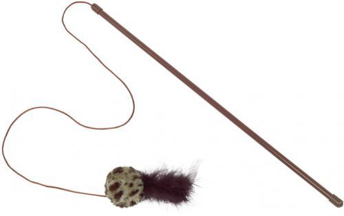 Nobby hraèka pro koèky udice s chrastícím míèkem