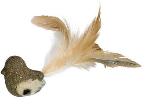 Nobby hraèka pro koèky ptáèek lisovaný catnip 17 cm