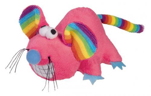 Nobby RAINBOW hraèka plyšová myš 14cm