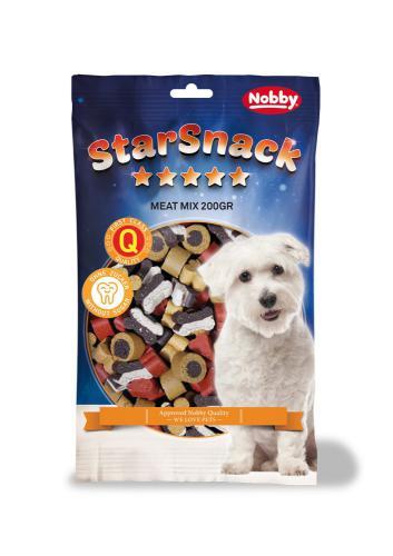 Nobby StarSnack Meat Mix pamlsky pro psa 200g