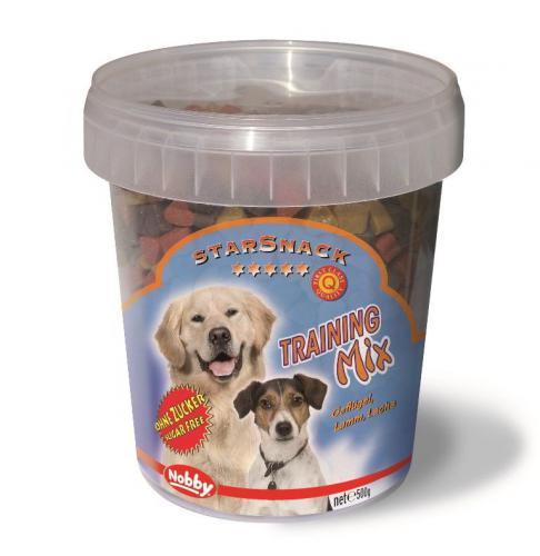 Nobby StarSnack Training Mix kyblík pamlsky pro psa 500g