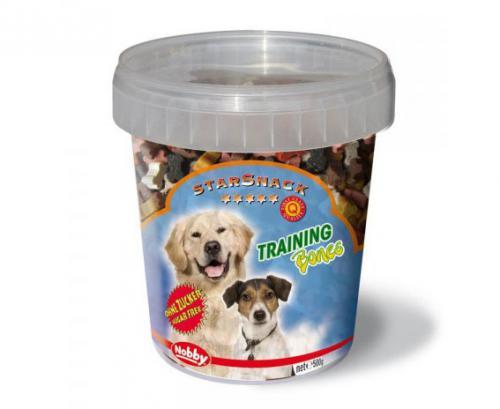 Nobby StarSnack Training Bones kyblík pamlsky pro psa 500g
