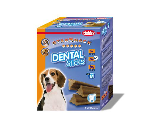 Nobby StarSnack Dental Sticks Medium dentální pamlsky 28ks / 560g