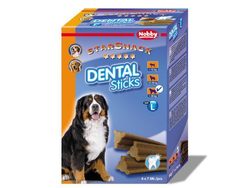 Nobby StarSnack Dental Sticks Large dentální pamlsky 28ks / 840g