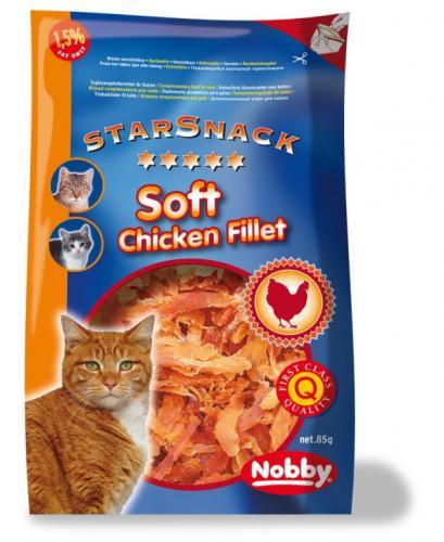 Nobby StarSnack pamlsky pro koèku sušené kuøecí kousky 85g
