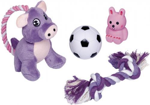 Nobby Puppy startovní set hraèek pro štìòata 4 ks