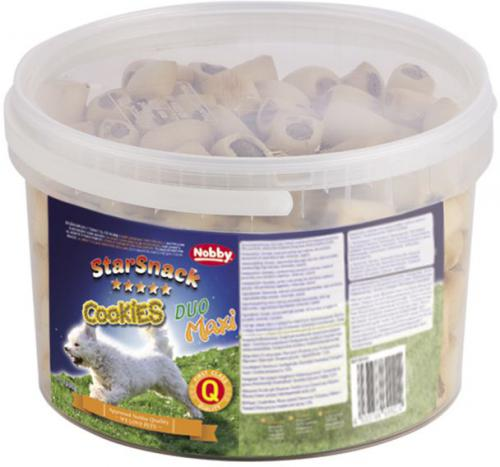 Nobby StarSnack Cookies Duo Maxi peèené pamlsky 1,3kg