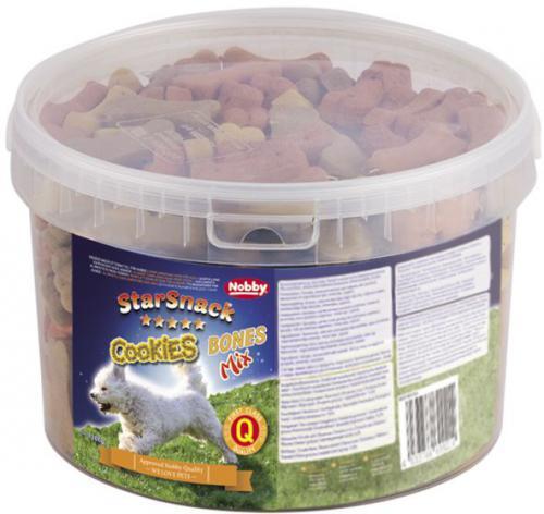Nobby StarSnack Cookies Bones Mix peèené pamlsky 1,3kg