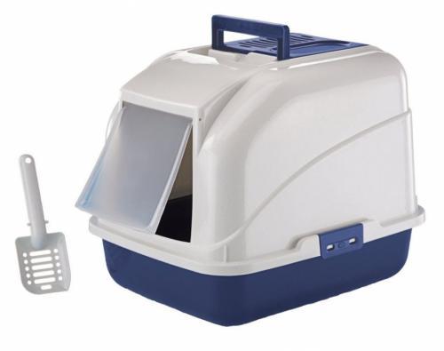 Nobby Rex koèièí toaleta 50x40x40cm modrá