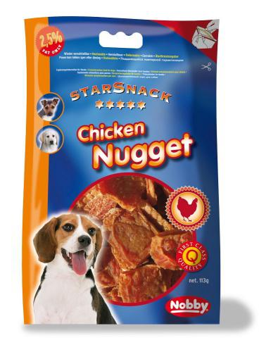 Nobby StarSnack Chicken Nugget kuøecí nugetky 113g