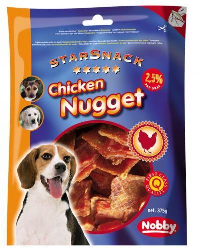 Nobby StarSnack Chicken Nugget kuøecí nugetky 375g