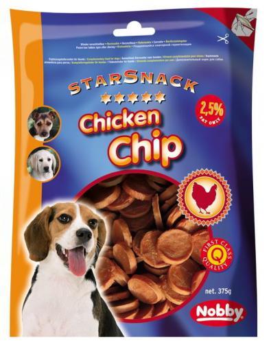 Nobby StarSnack Chicken Chip kuøecí dukátky 375g
