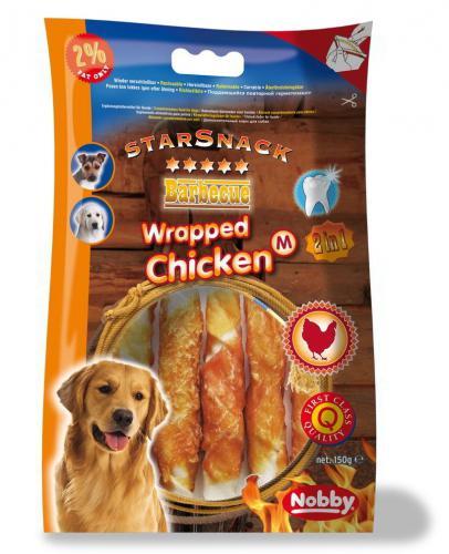 Nobby StarSnack Barbecue Wrapped Chicken Medium 13cm / 150g