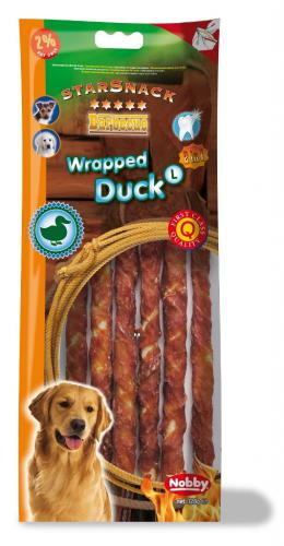 Nobby StarSnack Barbecue Wrapped Duck Large tyèinky 25cm / 128g