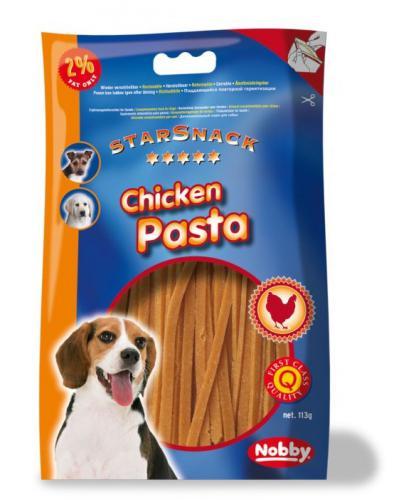 Nobby StarSnack Chicken Pasta kuøecí nudlièky 113g